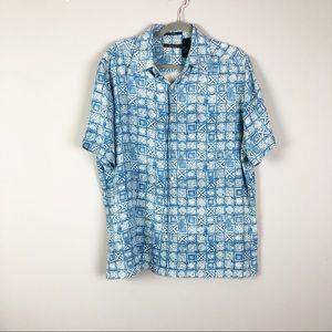 Claiborne Mens Silk Shirt
